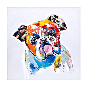Home Accents Dog Oil Painting, , large