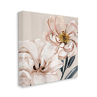 Stupell Industries  Pink Poppy Petals Organic Soft Spring Florals, 36 x 36, Canvas Wall Art, Pink, large