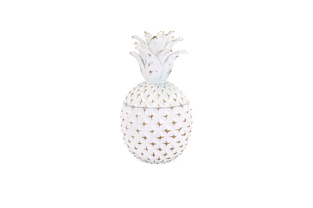 Brianna Small Pineapple Box, , large
