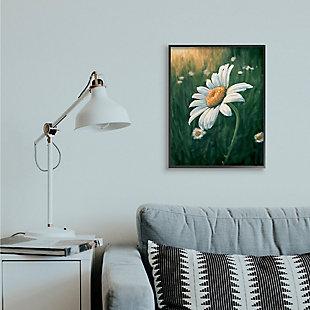Stupell Industries  Daisy Details in Field of Spring Flowers, 24 x 30, Framed Wall Art, Green, rollover