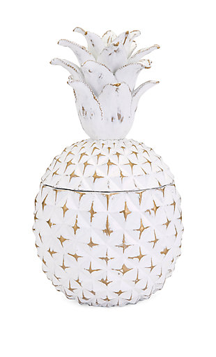 Brianna Large Pineapple Box, , large
