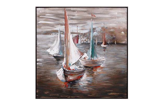 Sail Away Oil Painting, , large