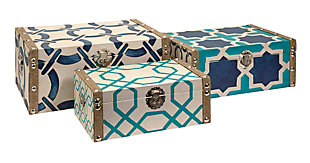Home Accents Boxes (Set of 3), , rollover