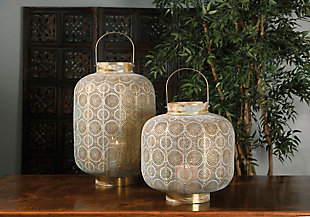 Home Accents Large Pierced Lantern, , rollover
