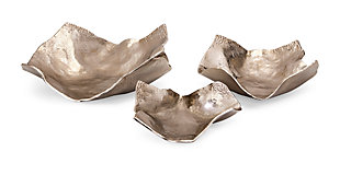 Home Accents Decorative Wavy Trays (Set of 3), , large