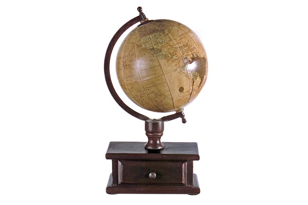 Globe with Storage, , large