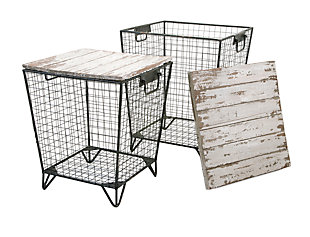 Home Accents Cage Tables (Set of 2), , rollover