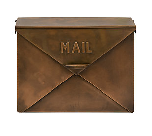 Tauba Copper Finish Mailbox, , large