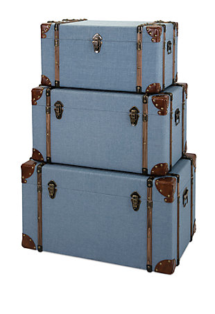 Fullerton Trunks (Set of 3), , large
