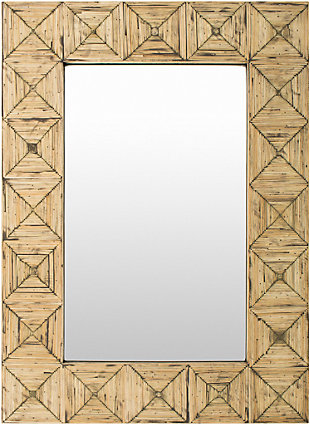 "Ilene Bamboo 26"" x 36"" Mirror, , large"