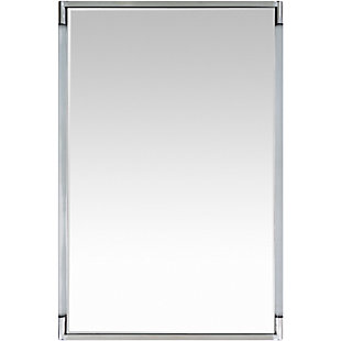 "Home Accents Lucite Frame 27.5"" x 39.5"" Mirror, , large"