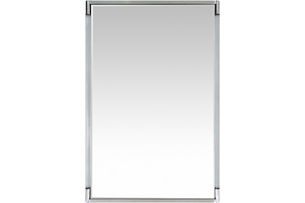 """Home Accents Lucite Frame 27.5"""" x 39.5"""" Mirror, , large"""