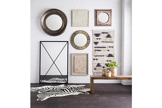 """Erie Hand Finished 38.6"""" x 38.6"""" Mirror, , large"""