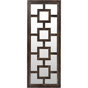 "Home Accents Geometric 27"" x 70"" x 2.25"" Mirror, , large"