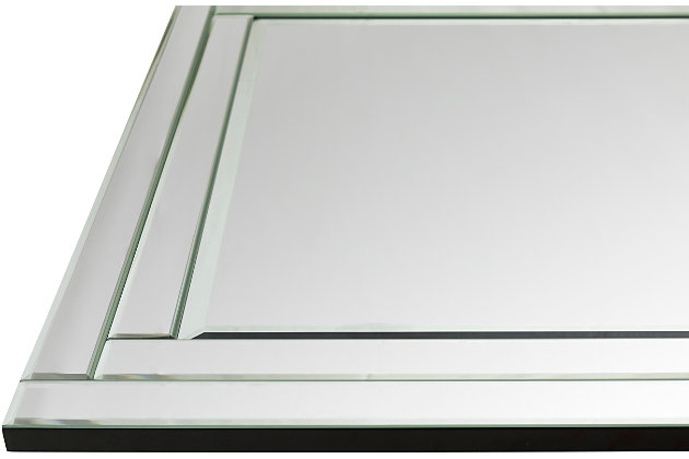 "Home Accents Beveled 53.15"" x 35.43"" x 0.79"" Mirror, , large"