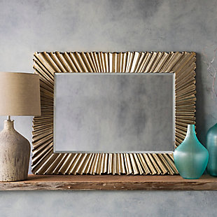 "Chaucer Gilded Finish 1.60"" x 36.20"" x 48.80"" Mirror, , rollover"