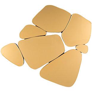 "Rockyridge Pebble Shaped 33.5"" x 35.4"" Mirror, , large"