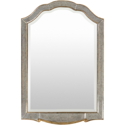 "Ashley Oleander Framed 47.64"" x 31.5"" x 0.79"" Mirror, Cha..."
