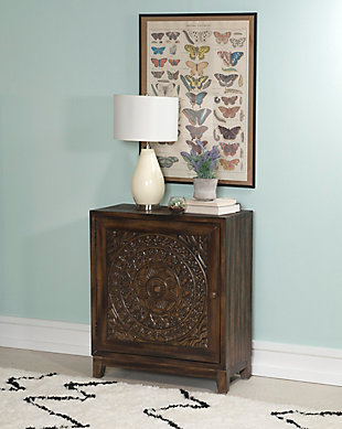 Powell Shelby Accent Cabinet, , rollover