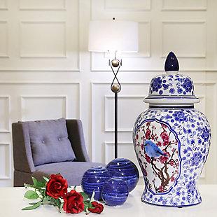 Sagebrook Home Blue Orbs (Set of 3), , rollover