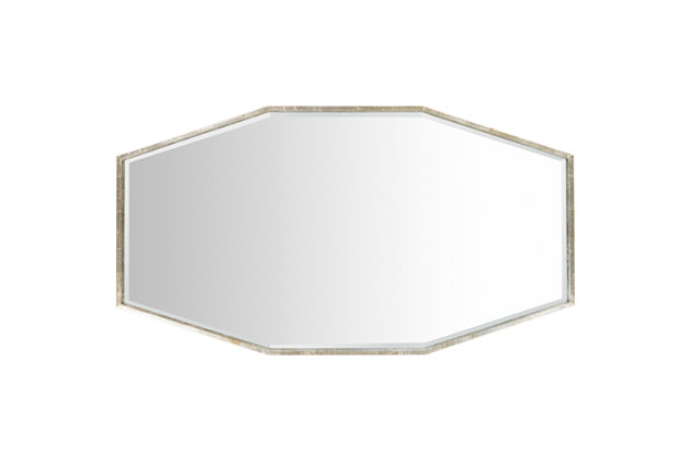 Home Accents Adams Beveled Mirror, , large