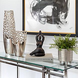 Sagebrook Home Namaste Female Yoga Figurine, , rollover