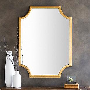 """Joslyn Gilded Framed Gold 29.75"""" x 40"""" Mirror, , rollover"""
