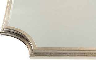 "Joslyn Gilded Framed Silver 29.75"" x 40"" Mirror, , large"