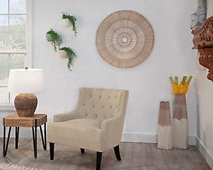 Sagebrook Home 2-Tone Vase, , rollover