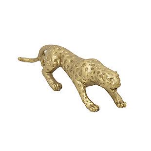 Sagebrook Home Resin Leopard Decorative Sculpture, , large