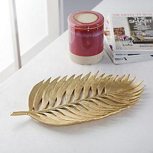 Sagebrook Home Polyresin Palm Leaf Decoration, , rollover