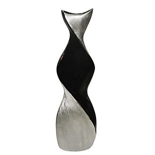 """Sagebrook Home and Silver 24"""" Twisted Vase, , large"""