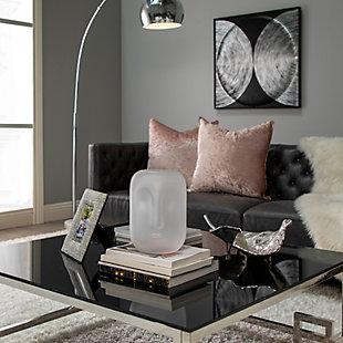 Sagebrook Home Glass Face Vase, , rollover