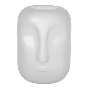 Sagebrook Home Glass Face Vase, , large
