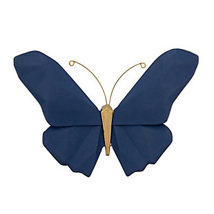 """Sagebrook Home Resin 6"""" W Origami Butterfly, , rollover"""