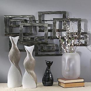"Sagebrook Home Metal 19"" Contemporary Wall Decor, , rollover"