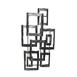 "Sagebrook Home Metal 19"" Contemporary Wall Decor, , large"