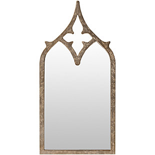 "Home Accents Weather Wood 23"" x 46"" Mirror, , large"