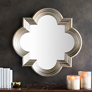"Salima Quatrefoil Design 34"" x 34"" Mirror, , rollover"