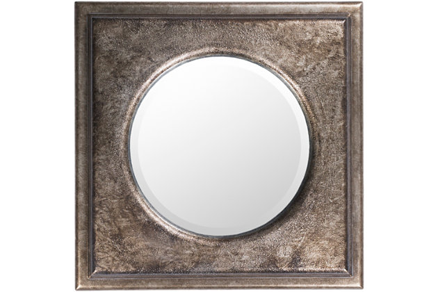 "Bronte Hand Finished 2.50"" x 24.15"" x 24.15"" Mirror, , large"