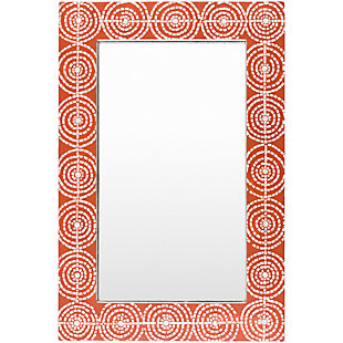"Pinon Mosaic Red Frame 24"" x 36"" Mirror, , large"