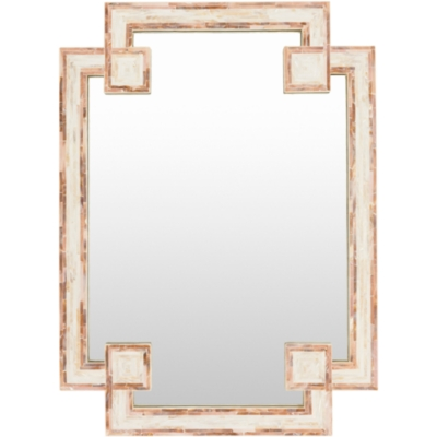 """Banks Mother Of Pearl 28"""" X 37.8"""" X 1.2"""" Mirror, , large"""