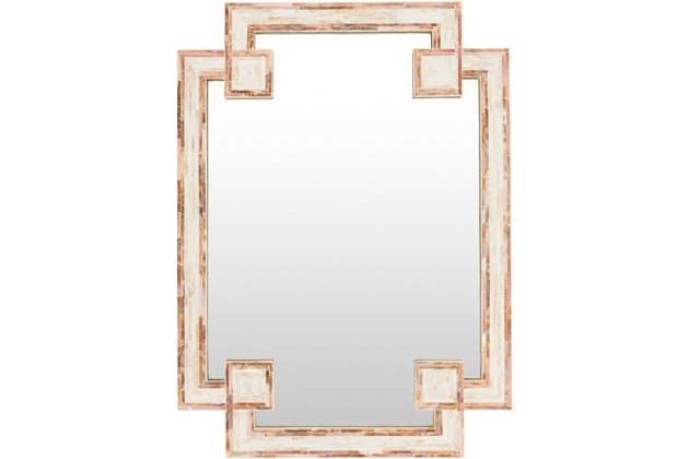 "Banks Mother of Pearl 28"" x 37.8"" x 1.2"" Mirror, , large"