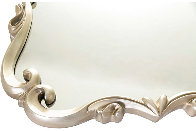 """Home Accents Embossed 40.5"""" x 30.5"""" x 1.5"""" Mirror, , large"""