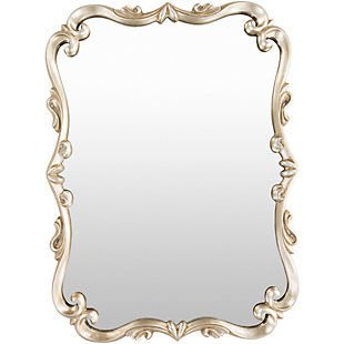 "Home Accents Embossed 40.5"" x 30.5"" x 1.5"" Mirror, , large"