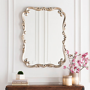 "Home Accents Embossed 40.5"" x 30.5"" x 1.5"" Mirror, , rollover"