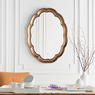 "Milburn Quatrefoil Design 40"" x 30"" x 1.5"" Mirror, , rollover"