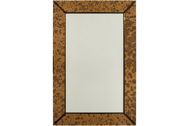 "Seymour Beveled Copper 24"" x 36"" x 1.5"" Mirror, , large"