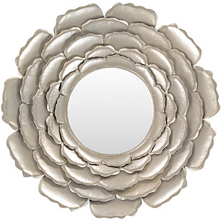 "Home Accents Flower 32"" x 32"" x 2"" Mirror, , large"