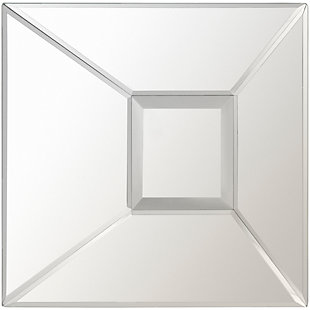 "Malachi Geometric Square 15.75"" x 15.75"" Mirror, , large"